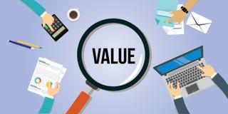 Concetto del cliente di proposta di valore Immagini Stock Libere da Diritti