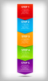 Concetto del diagramma di miglioramenti trattati di affari. royalty illustrazione gratis