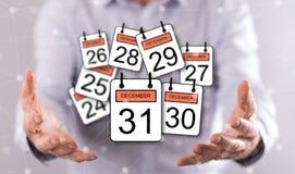 Concetto del 31 dicembre Immagine Stock