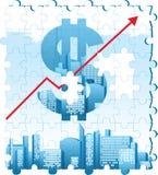 Concetto del dollaro Fotografia Stock