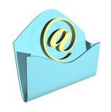 Concetto del email della busta fotografie stock