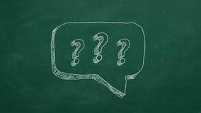 Concetto del FAQ illustrazione vettoriale