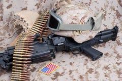 Concetto del fondo dei marinai degli Stati Uniti Fotografia Stock Libera da Diritti