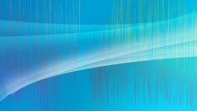 Concetto del fondo dell'onda delle bande blu illustrazione vettoriale