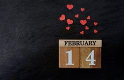 Concetto del fondo di idea di Valentine's Fotografie Stock