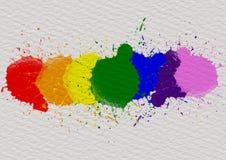 Concetto del fondo di mese di orgoglio di LGBT fotografie stock