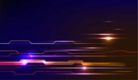 Concetto del fondo di progettazione del modello del movimento di velocità illustrazione di stock