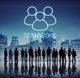Concetto del grafico di Alliance di sostegno di lavoro di squadra di associazione Immagine Stock
