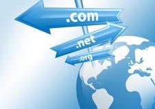Concetto del Internet Immagine Stock