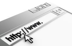 Concetto del Internet illustrazione di stock