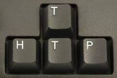 Concetto del Internet del HTTP fotografia stock libera da diritti