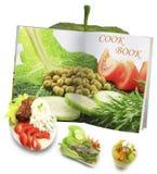 Concetto del libro di cucina immagine stock libera da diritti