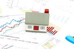 Concetto del mercato degli alloggi Fotografia Stock Libera da Diritti