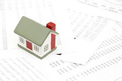 Concetto del mercato degli alloggi Immagine Stock Libera da Diritti