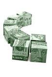 Concetto del movimento dei soldi Fotografie Stock Libere da Diritti