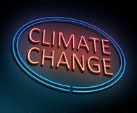 Concetto del mutamento climatico royalty illustrazione gratis