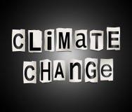 Concetto del mutamento climatico illustrazione di stock