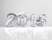 Concetto 2015 del nuovo anno Fotografia Stock