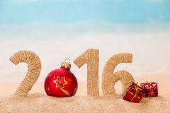 Concetto del nuovo anno di Appy Immagini Stock Libere da Diritti