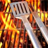 Concetto del partito del BBQ Immagine Stock