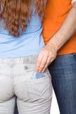 Concetto del sesso sicuro Fotografie Stock
