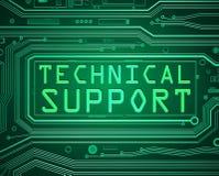 Concetto del supporto tecnico Immagine Stock Libera da Diritti