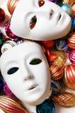 Concetto del teatro con il bianco Immagini Stock