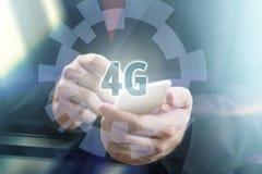 concetto del telefono 4G Immagine Stock Libera da Diritti