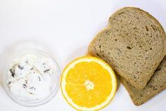 Concetto delizioso della prima colazione Fotografia Stock