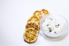 Concetto delizioso della prima colazione Fotografia Stock Libera da Diritti