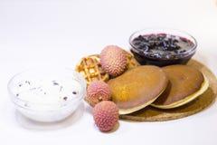 Concetto delizioso della prima colazione Immagine Stock Libera da Diritti
