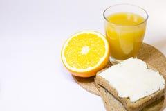 Concetto delizioso della prima colazione Immagine Stock