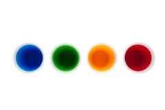 Concetto dell'acqua dell'arcobaleno Immagini Stock