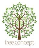 Concetto dell'albero Immagini Stock