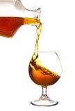 Concetto dell'alcool Fotografia Stock