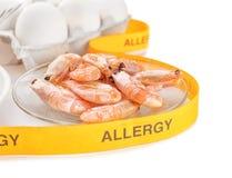 Concetto dell'alimento di allergia Alimento allergico Fotografia Stock Libera da Diritti