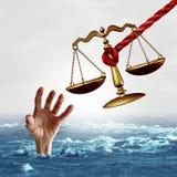 Concetto dell'assistenza giuridica Immagini Stock Libere da Diritti