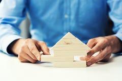 Concetto dell'attività d'investimento e di sviluppo immobiliare Immagine Stock