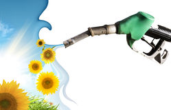 Concetto dell'energia pulita Fotografia Stock Libera da Diritti