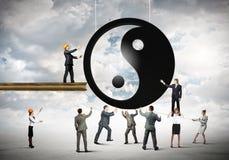 Concetto dell'equilibrio Immagine Stock