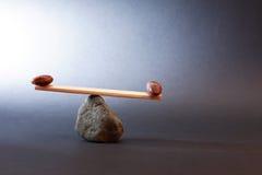 Concetto dell'equilibrio Fotografia Stock Libera da Diritti