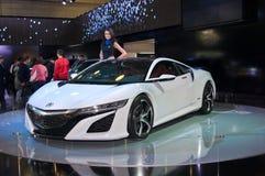Concetto dell'ibrido di Acura NSX Fotografia Stock