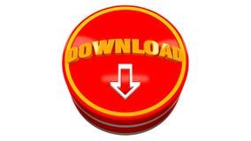 Concetto dell'icona 3d di download royalty illustrazione gratis