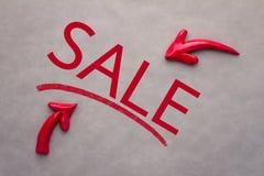Concetto dell'icona di vendita Immagini Stock