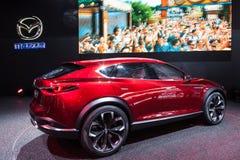 Concetto dell'incrocio di Mazda Koeru allo IAA 2015 Immagine Stock
