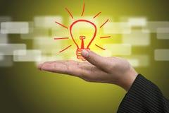 Concetto dell'innovazione di idea Fotografia Stock