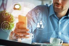 concetto dell'innovazione e di tecnologia Immagine Stock