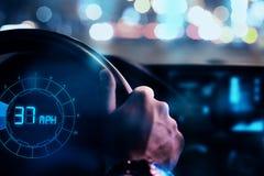 Concetto dell'interfaccia e del trasporto Immagini Stock Libere da Diritti