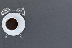 Concetto dell'intervallo per il caffè Fotografia Stock