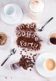 Concetto dell'intervallo per il caffè Fotografie Stock